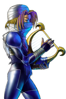 Sheik plays his lyre - <i>Ocarina of Time 3D</i>