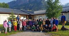 Classe de découvertes dans les Pyrénées