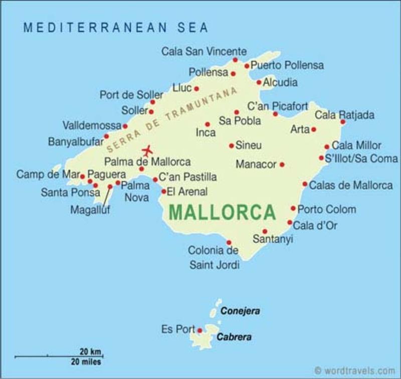 vol supersonic  via Palma de Mallorca ...