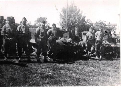 * Etape n° 43 - Avril-Mai 1945 : Le Bataillon de Marche 2 de retour au combat dans la Poche de Royan