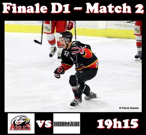 Finale Match 2 - 19h15 19-03-2016