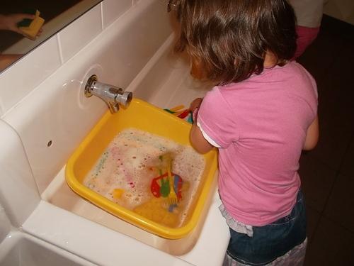 Après midi vaisselle