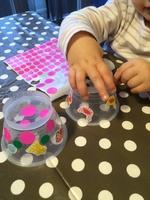 Cloches de Pâques (récup coupelles)
