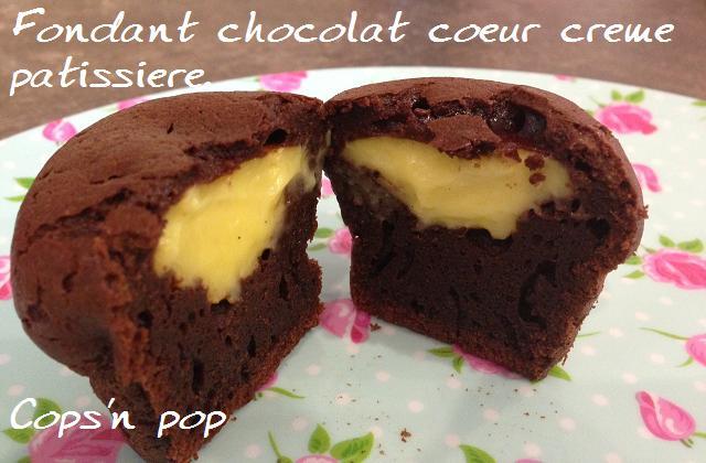 Recette buche a la creme patissiere au chocolat