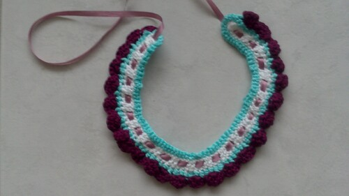 Collier coquillage 2 : les finitions