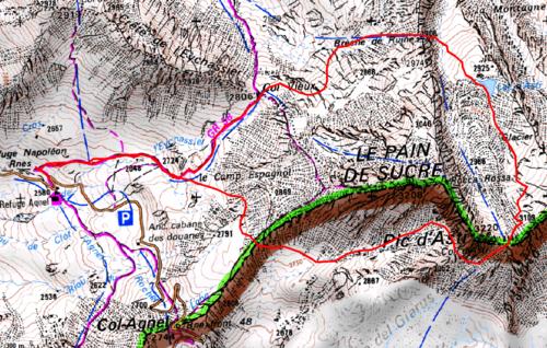 Tour du Pain de Sucre et du Pic d'Asti