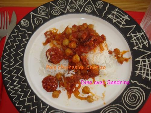 Des Pois Chiches au Chorizo
