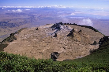 Le volcan le plus cool du monde ...