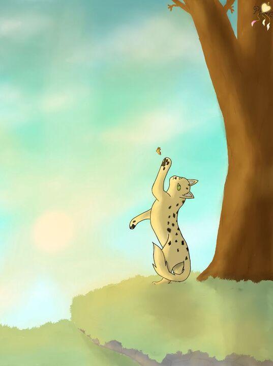 Voici donc une des commandes ^^ Celle du blog :3 C'est donc Petite Guêpe :3 Franchement, j'adore son nom et son design, j'ai déjà appelée des persos Petite Abeille mais j'ai jamais pensée à Petite Guêpe (avec ta permission petit panda roux des li...