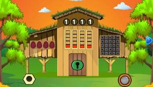 Jouer à Wooden box gold coin escape