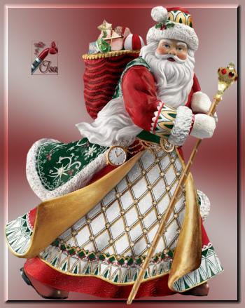 PN0014 - Tube Père Noël