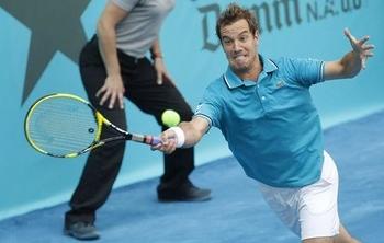 Federer-balaie-Gasquet