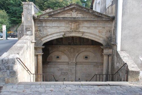 Fontaine des trois Trias