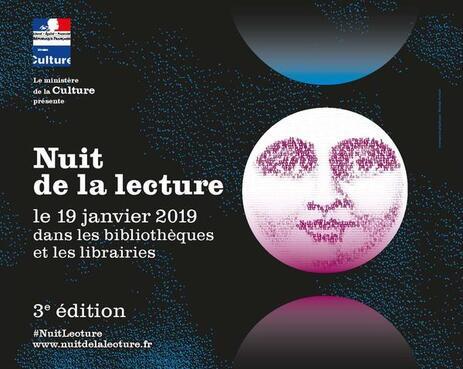 """Résultat de recherche d'images pour """"nuit lecture 2019"""""""