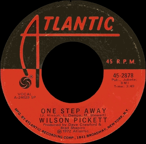 "Wilson Pickett : CD "" Don't Knock My Love The Singles 1971-1972 "" SB Records DP 94 [ FR ]"