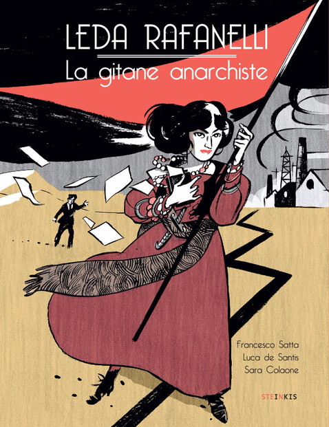 BD - Leda Rafanelli, la gitane anarchiste