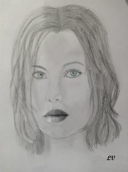Kate Beckinsale dans underworld