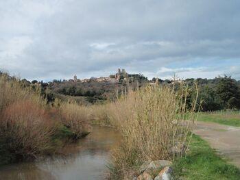 Grimaud et sa rivière