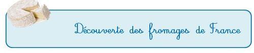 A la découverte des fromages de France