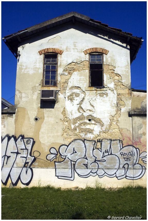 563 - Vhils -  Alcantara - Lisboa