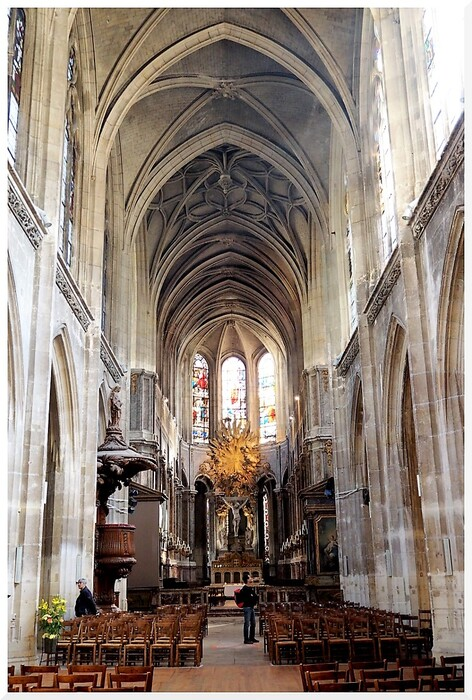 Eglise Saint Merri.Paris Intérieur