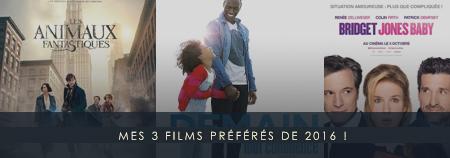 Les 3 films de l'année 2016 à avoir vu !