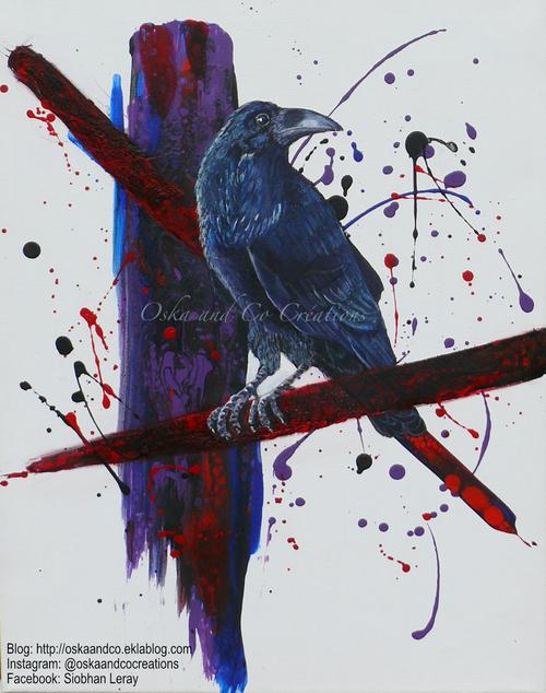 corbeau raven