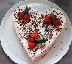 Gâteau sans cuisson fraises-Oréo-mascarpone