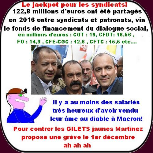 Macron, Gilets Jaunes ,etc... ce sont les infos du poissonnier.