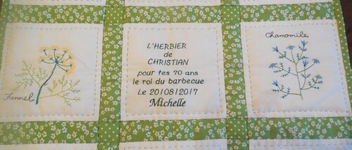 Patch et broderie machine
