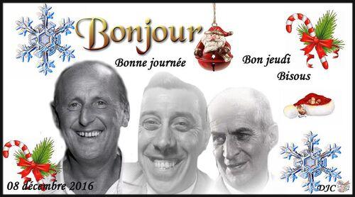 Louis de Funès - Bourvil - Fernandel -  Créa année 2016 -