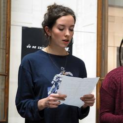 Vendredi 10 mars, 19h. Lecture des poètes Claude Ber et Frédérique Wolf-Michaux. l'Hôtel à Projets Pasteur