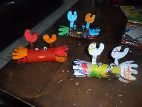 Le crabe....
