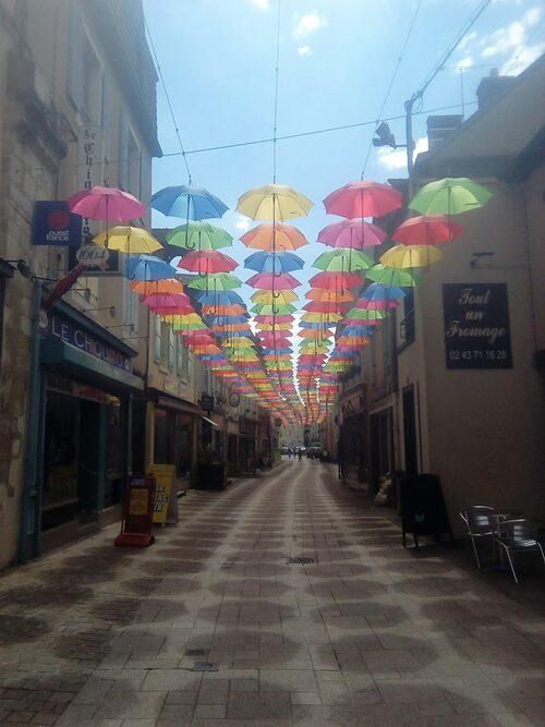 Les parapluies ...