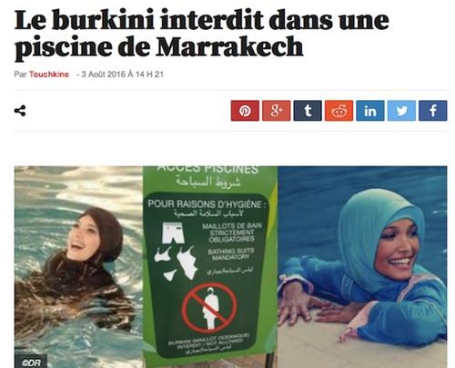 Karl Marx et le burkini