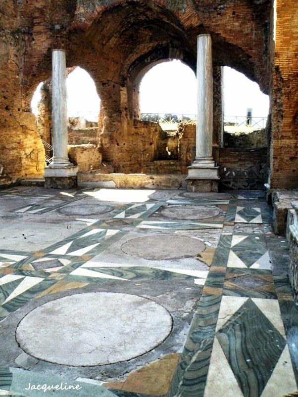 les sols des demeures romaines