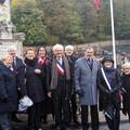 11 novembre 2017 : participation d'une délégation de Syston aus cérémonies