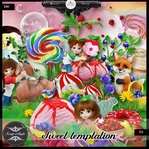 Sweet Temptation by Scrap'Angie