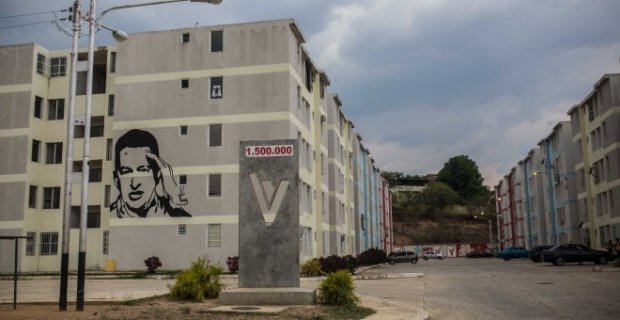 La cité de logements sociaux dans laquelle le gouvernement du Venezuela a logé la famille d'Orlando Figuera après l'assassinat de celui-ci - JAIRO VARGAS