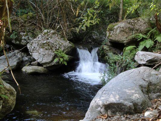 * CASTEIL Les gorges et cascades du Cady