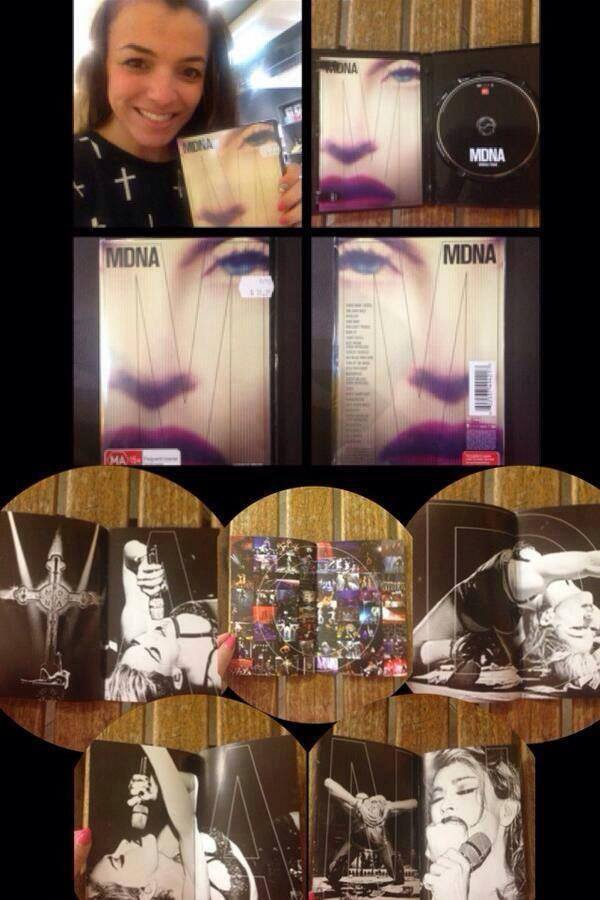 MDNA World Tour DVD Booklet