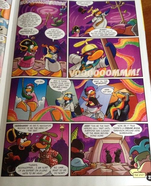 Club Penguin Magazine de juillet 2014