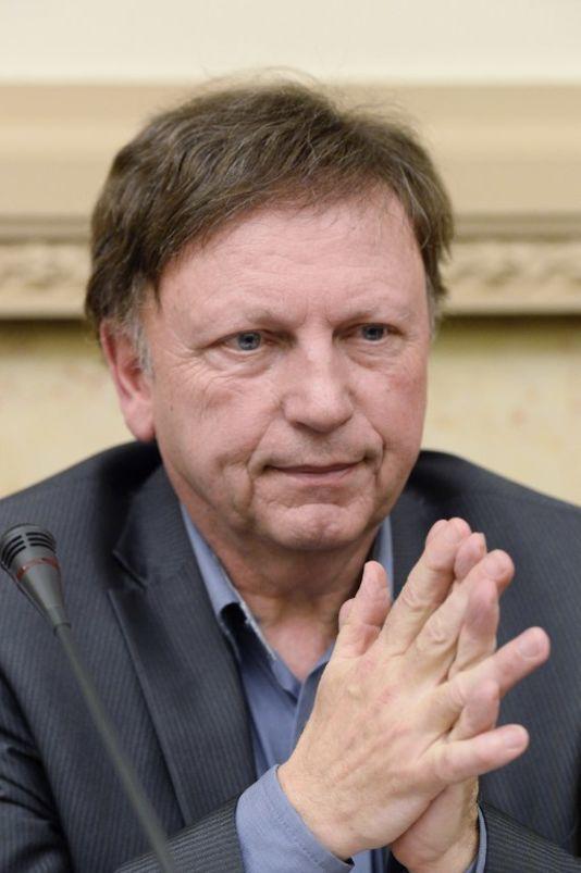 Antoine Waechter à l'Assemblée nationale en avril 2015.