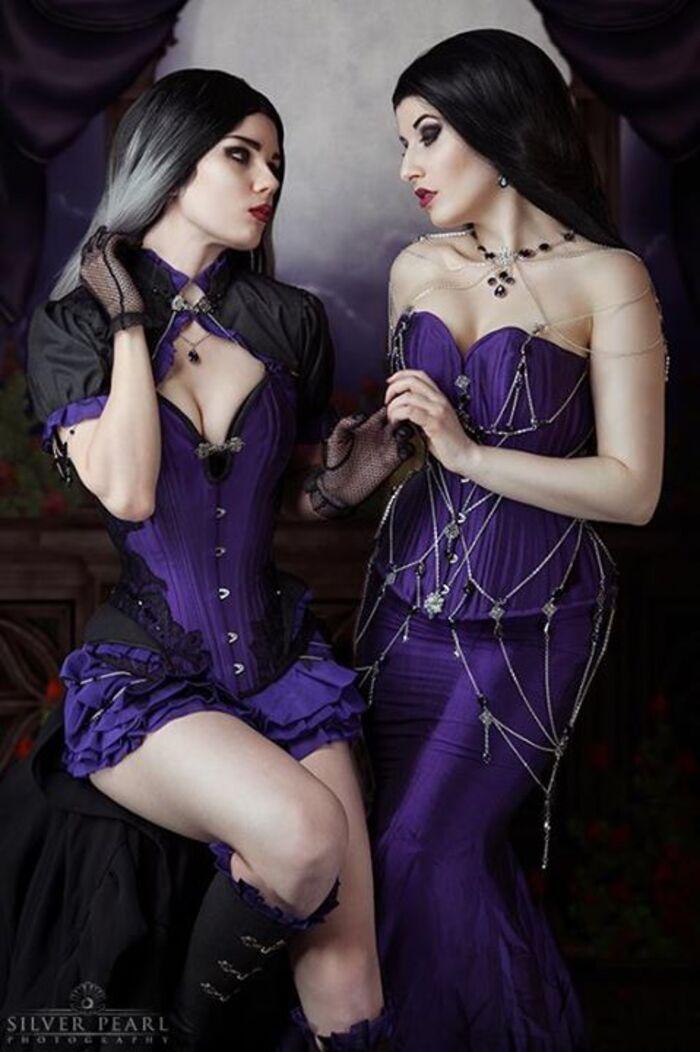 La Esmeralda, modèle goth