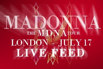 MDNA Tour - Live Feed - London Hyde Park