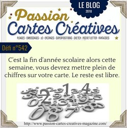 Passion Cartes Créatives#542