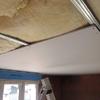 pose du plafond du rez de chaussé en placo (5)