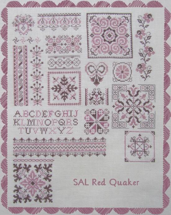 SAL Red Quaker étapes 7 à 10