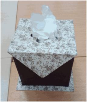 Les boîtes à mouchoirs carrées