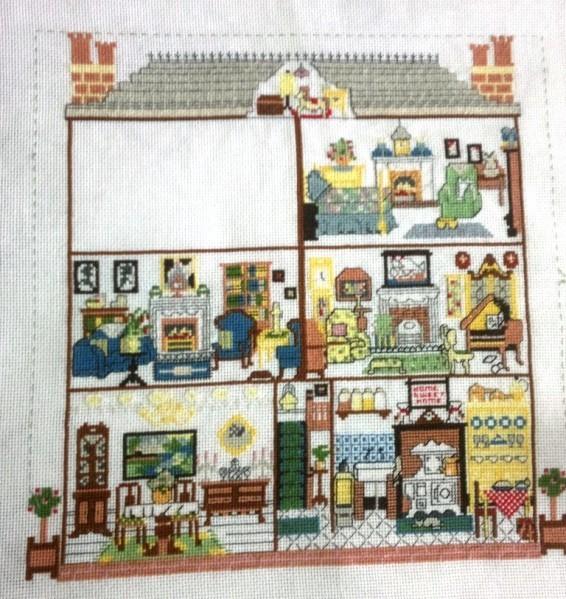 SAL Maison de poupée chambre 2